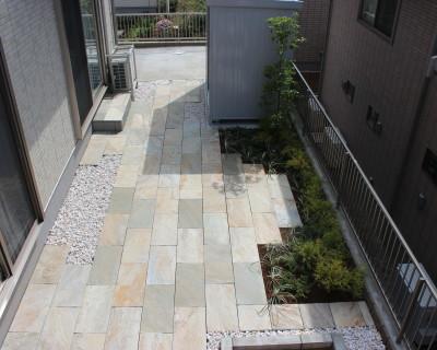 千葉県成田市 H様邸のお庭|洋風造園の施工例