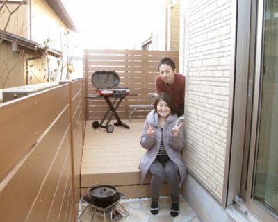 千葉県鎌ケ谷市 S様邸のお庭|目隠しフェンス・ウッドデッキのリフォーム 施工事例