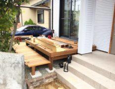 千葉県佐倉市 H様邸のお庭|フェンス・ウッドデッキのリフォーム 施工事例