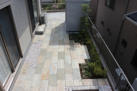 千葉県成田市 H様邸(新築住宅)のお庭|手間のかからない造園リフォーム 施工事例
