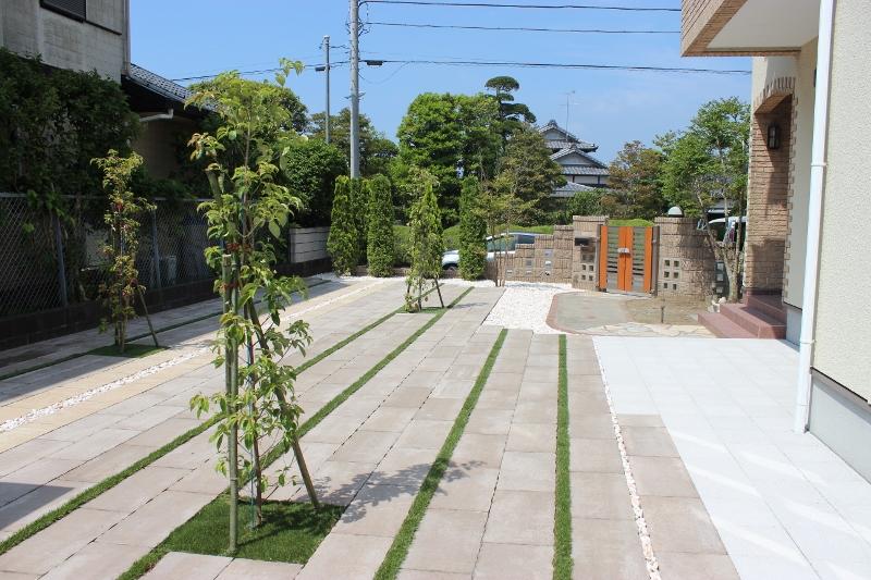 千葉県香取郡の造園リフォーム施工後
