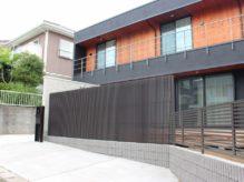 千葉県佐倉市 K様邸のお庭 風通しと目隠しが両立したフェンスを施す造園リフォーム