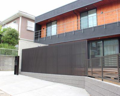 千葉県佐倉市 K様邸のお庭|風通しと目隠しが両立したフェンスを施す造園リフォーム