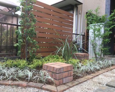 千葉県四街道市にお住いのK様邸のお庭|緑量を多めにした緑が映える造園リフォーム