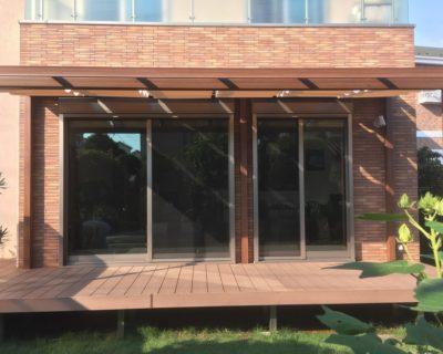 思わず見上げてしまうような温もりある憩いの空間|千葉県習志野市のA様邸のお庭をリフォーム