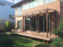 思わず見上げてしまうような温もりある憩いの空間 千葉県習志野市のA様邸のお庭をリフォーム