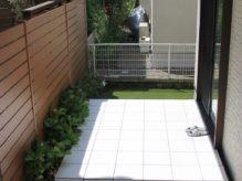 手間がかからず飽きの来ない庭づくり 千葉県浦安市にお住いのS様邸のお庭をリフォーム
