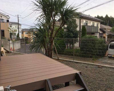 いつもの風景をくつろぎ感溢れる空間に|千葉県佐倉市にお住いのT様邸のお庭をリフォーム