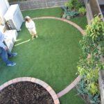 緑があふれる曲線主体の柔らかいお庭|千葉県佐倉市にお住いのT様邸の外構リフォーム
