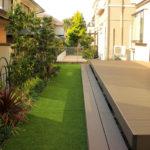 ローメンテナンスなお庭に必須の雑草対策を施した庭リフォーム|千葉県佐倉市のお客様