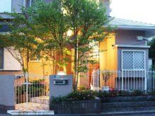 鋳物門扉と天然石の石貼りでシンプルな高級感を|千葉県佐倉市・N様邸にてお庭の外構リフォーム