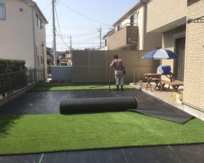 愛犬が元気に遊べる自然との調和を意識したメンテナンスフリーなお庭|千葉県四街道市にお住いのW様邸のガーデンリフォーム