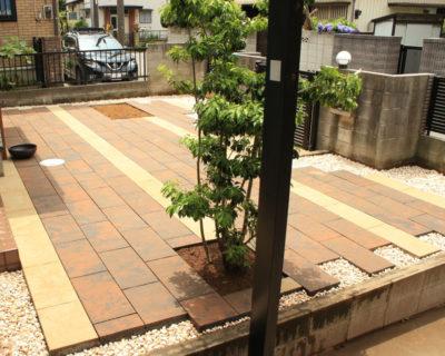 雑草対策を施しメンテナンスを最小限に抑えたお洒落なお庭に|千葉県八千代市にお住いのS様邸にてガーデンリフォーム